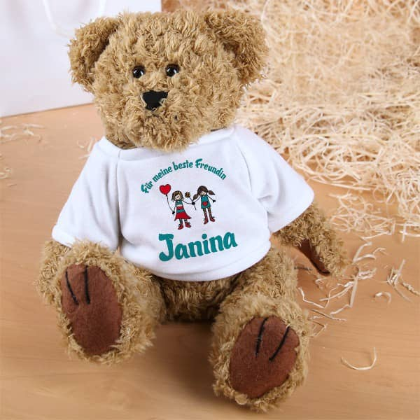 personalisierter Teddy