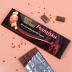 Riesige Schokolade zum Geburtstag mit Alter, Name und Text