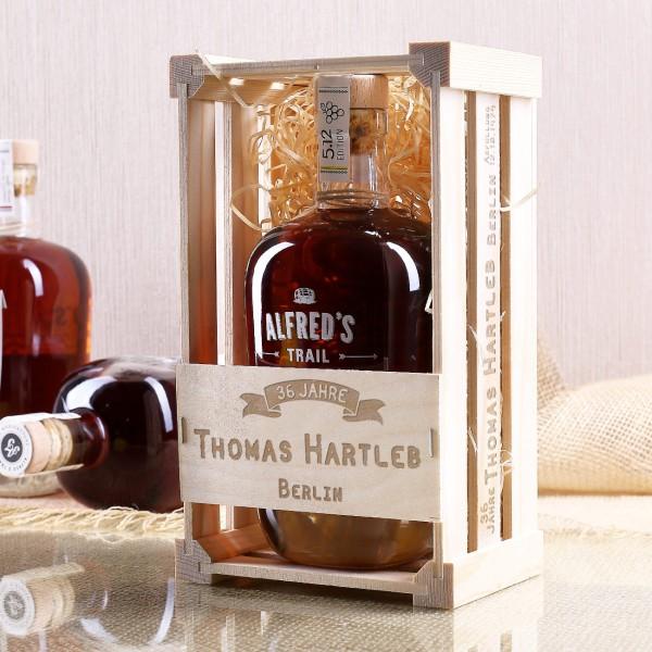 hochwertiger Rum personalisiert