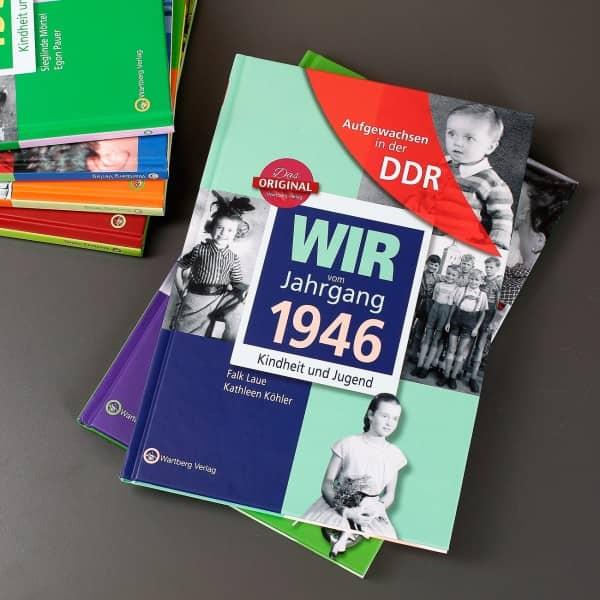 Jahrgangsbuch 1946 Aufgewachsen in der DDR
