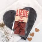 Mini Salami Herzen  - Liebe geht durch den Magen - mit Name