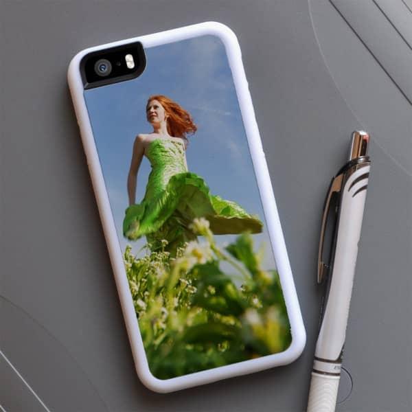 weißes iPhone 6 Cover mit Ihrem Foto
