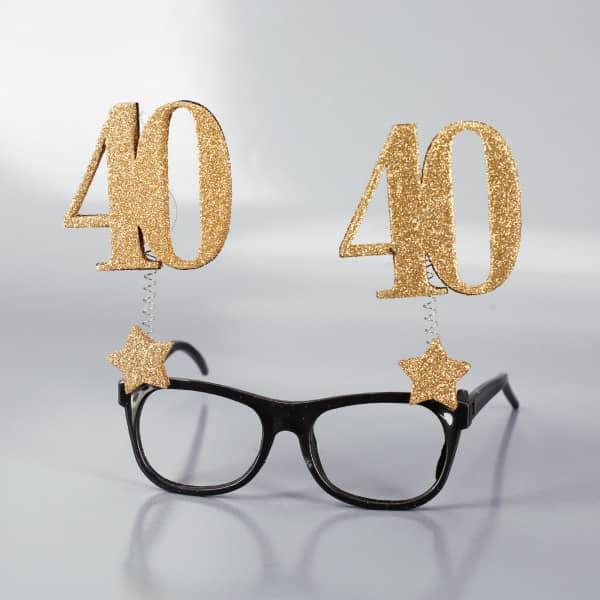 Brille zum 40. Geburtstag