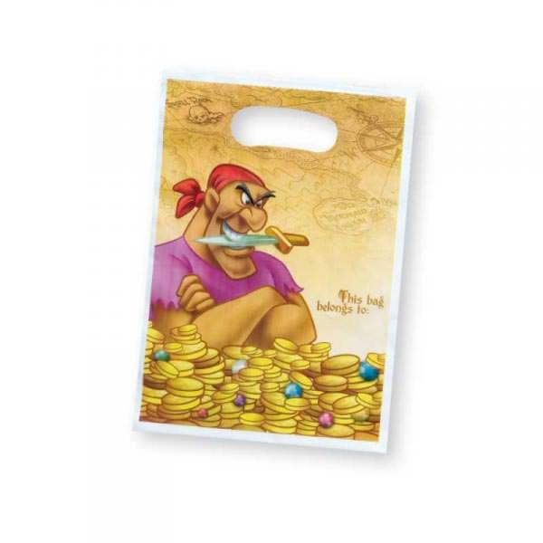 6 Geschenktaschen Disney Pirates