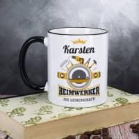 Heimwerker aus Leidenschaft - Tasse mit Name