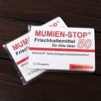Kaugummi - Mumienstop zum 50. Geburtstag