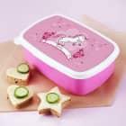 Brotdose mit Pink Pony und Name