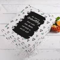 Geschenkbox zum Geburtstag mit Ihrem Wunschtext