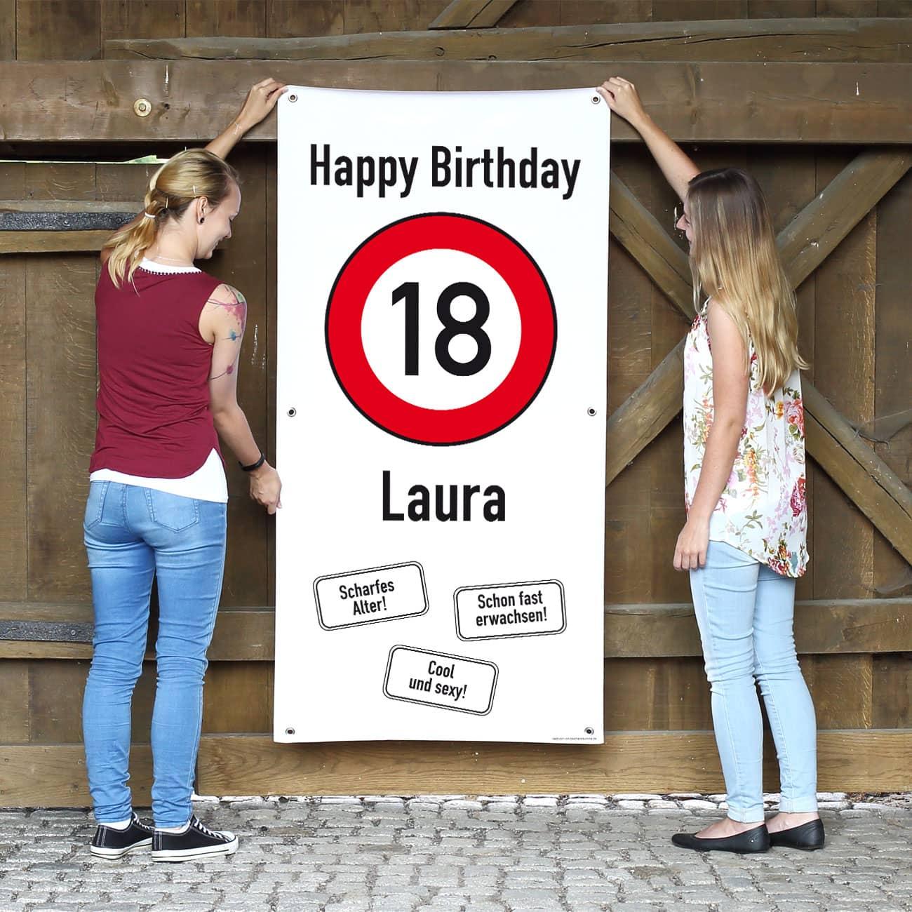 Dekoration Zum 18 Geburtstag Deko Als Geschenk