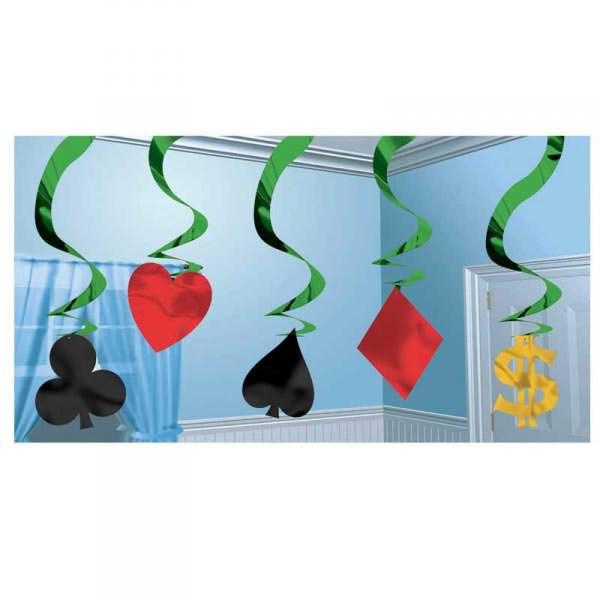 Hanging Swirl Decoration Poker