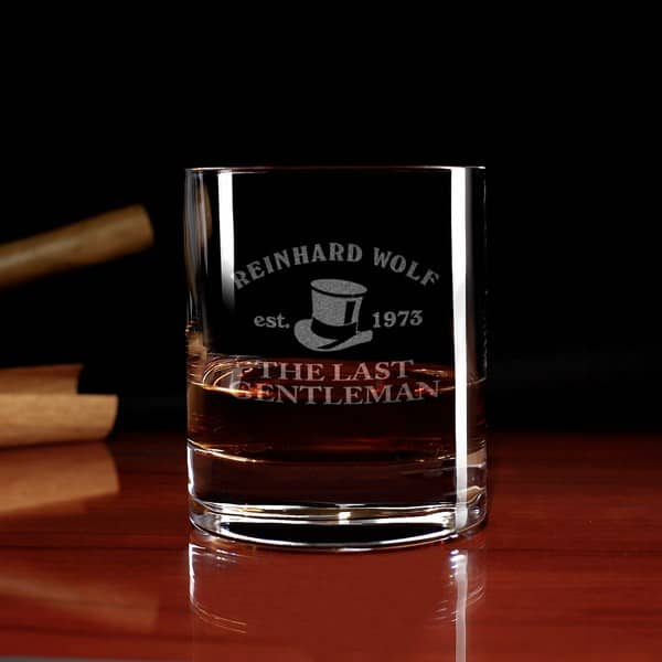 New York Bar Whiskyglas mit Gravur
