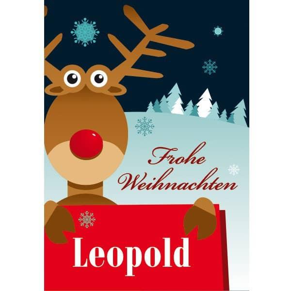 Postkarte zu Weihnachten