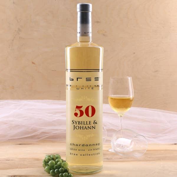BREE Magnumflasche zur goldenen Hochzeit