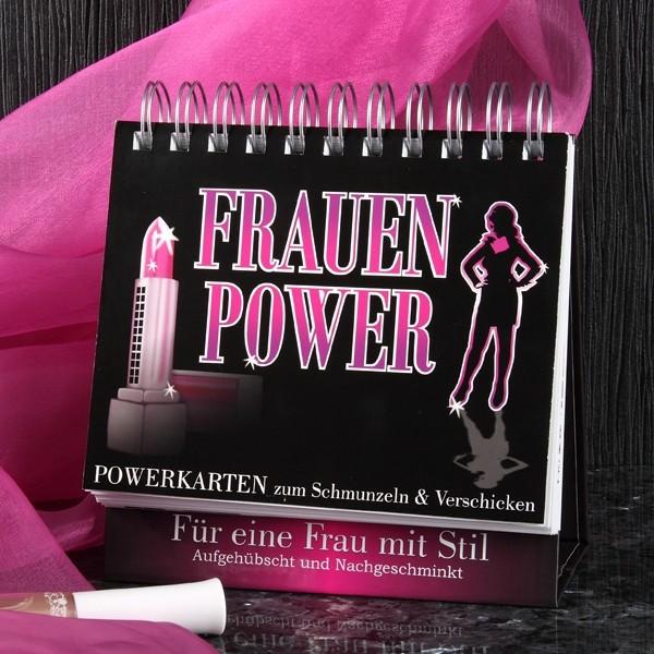 Frauenpower Aufstellbuch mit 52 Postkarten