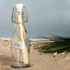 Liebespost aus der kleinen Flasche