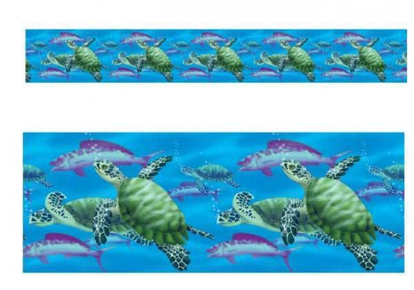 Hawaii Deko Schildkröten und Fische