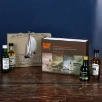 Whisky Tasting Collection in edler Verpackung bedruckt mit Wunschname