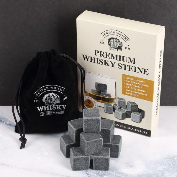 Whisky Kühlsteine im Set