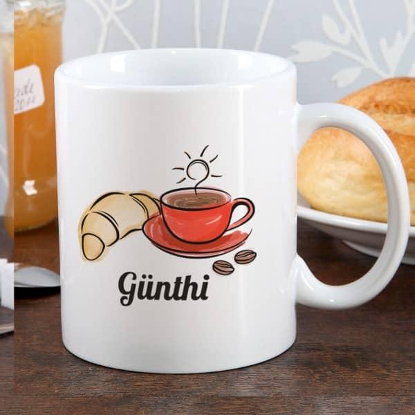 Tasse zum Frühstück