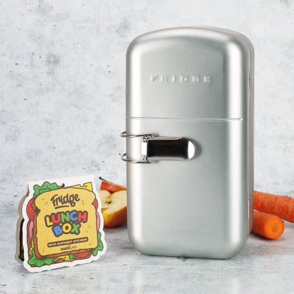 Retro-Kühlschrank Lunchbox