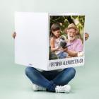 XXL Klappkarte Polaroid mit Foto und Wunschtext
