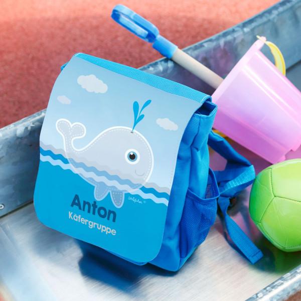 Kindergartenrucksack mit Walmotiv