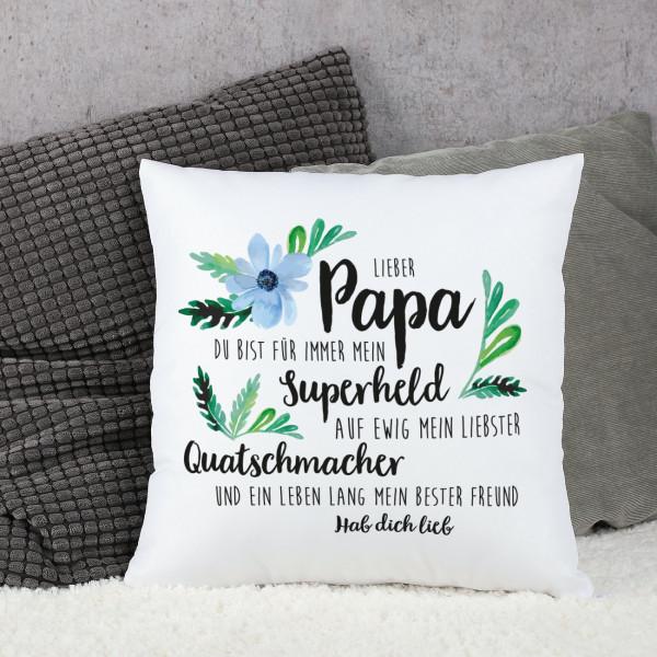 Lieber Papa Kissen Zum Vatertag