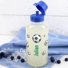 Fußballer - Trinkflasche mit Name 1,0 L