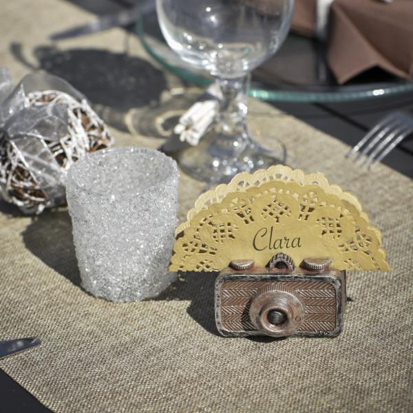 Mini Kamera im Retro Stil als Platzhalter
