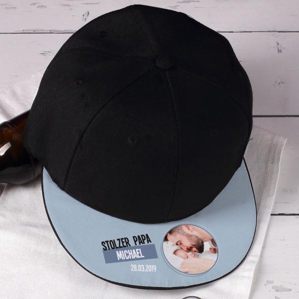 Basecap Für Frisch Gebackene Väter Mit Fotoaufdruck