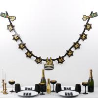 Party Girlande zum 30. Geburtstag - Star