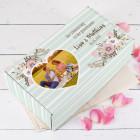 Hochzeitsbox mit Foto als Geschenkverpackung