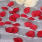Kunstrosenblätter in rot