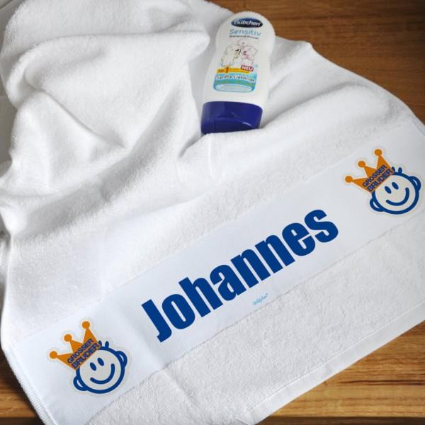 Handtuch für große und kleine Brüder