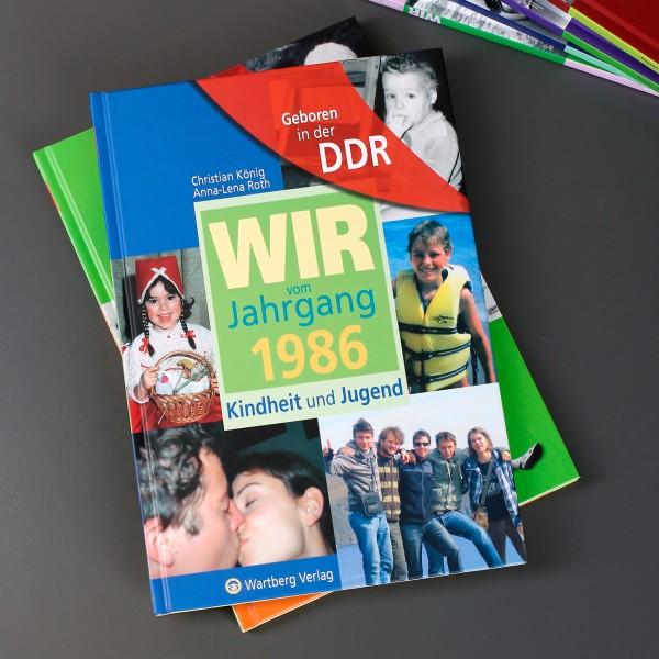 Jahrgangsbuch 1986 Geboren in der DDR