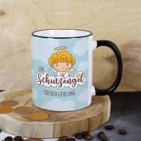 Kleiner Schutzengel - Tasse mit Ihrem Wunschtext