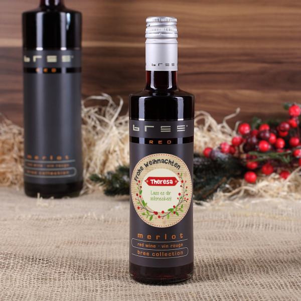 Rotwein zu Weihnachten