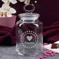 Glasdose für die süßen Momente im Leben