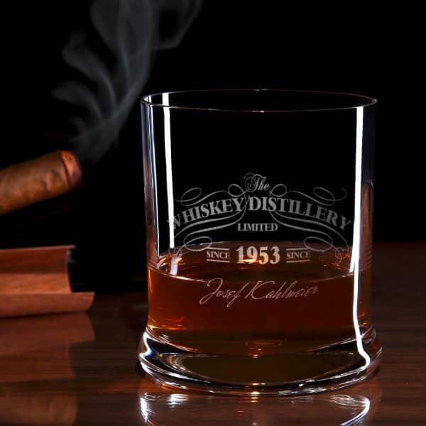 Limited Whiskyglas mit Gravur