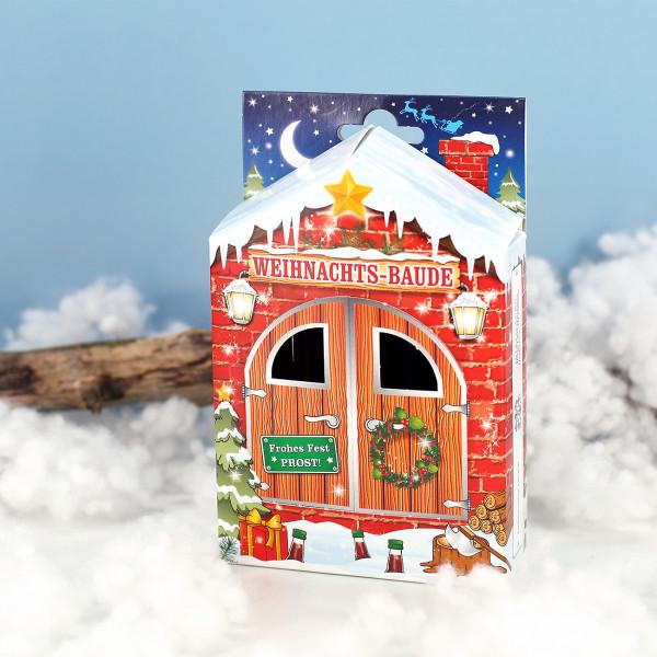 Weihnachts-Baude mit Likör