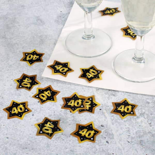 Streudeko - Star zum 40. Geburtstag