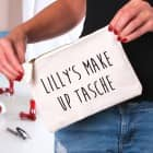 Kosmetiktasche mit Ihrem Wunschtext bedruckt