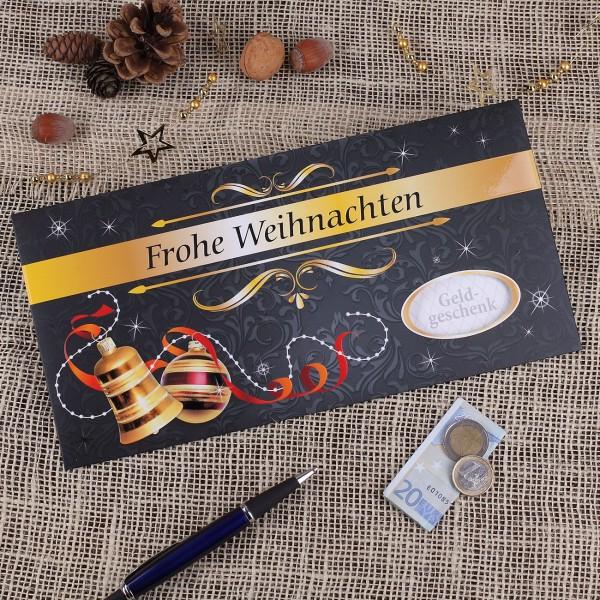 XXL Gutscheinkuvert - Frohe Weihnachten