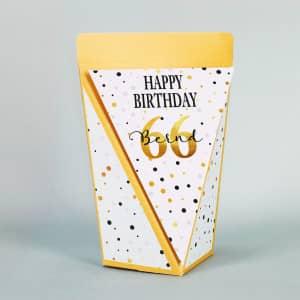 Geschenktüte zum Geburtstag personalisiert