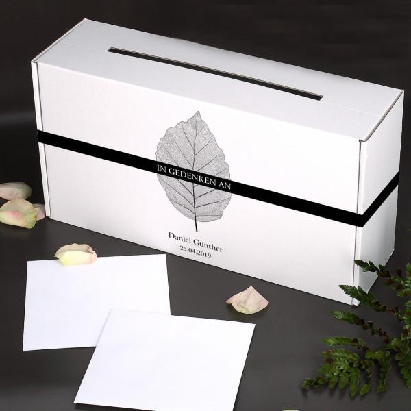 Briefbox für Trauerkarten
