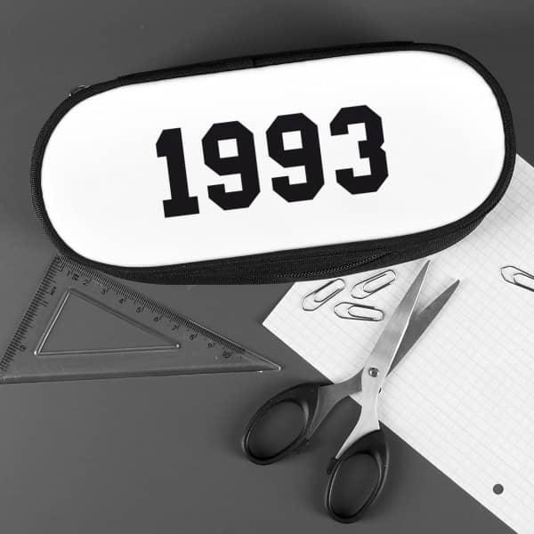 Stiftebox mit Wunschjahr bedruckt