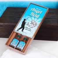 Geschenkset - Angel Held mit Flüssig-Köder