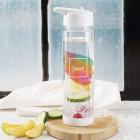 Tutti Frutti Flasche mit Watercolor Aufdruck