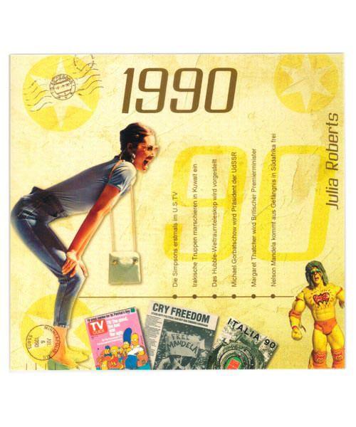 CD mit Chart Hits von 1990