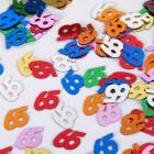 Zahlenkonfetti 65